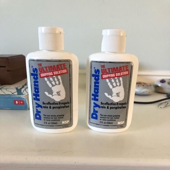 Dry bottles for hands